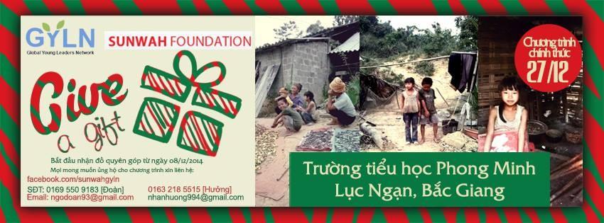 [Sunwah GYLN Hanoi] Give a gift
