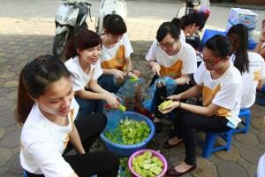 LOVING MEALS IN UNIVERSITY ENTRANCE EXAMS REPORT SUNWAH GYLN HANOI_5