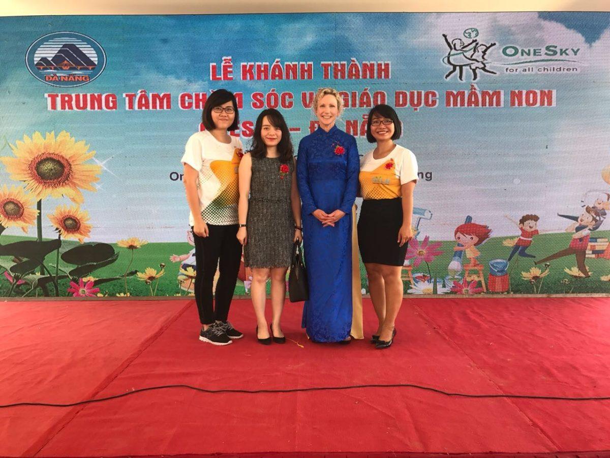 [Sunwah GYLN Hanoi & HCMC] The Opening Ceremony of OneSky Early Learning Center Danang, Vietnam