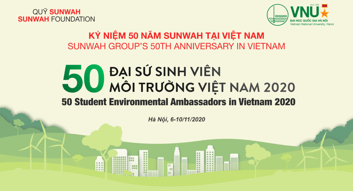 """Final Pitching Session of the """"50 Student Environmental Ambassadors in Vietnam 2020"""""""